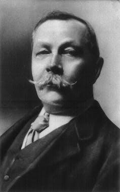 Arthur Conan Doyle.Wikimedia Commons / Arnold Genthe