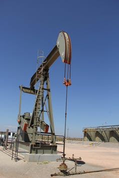 Pump jack in New Mexico