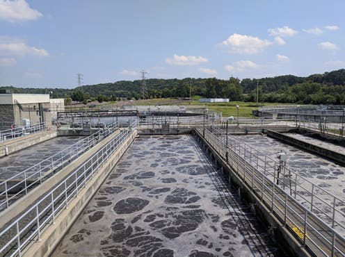 Wastewater treatment plant, Upper Providence, Penn.