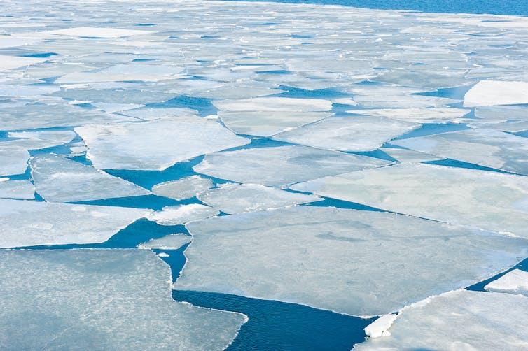 es laut di Antarktica