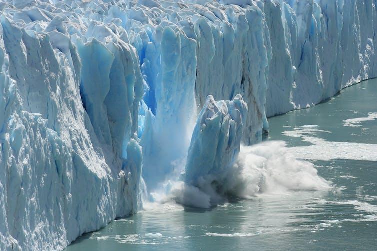 Lapisan es di Antarktika