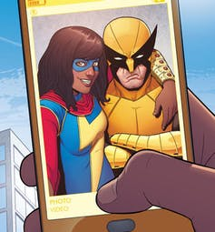 Ms. Marvel and Wolverine.