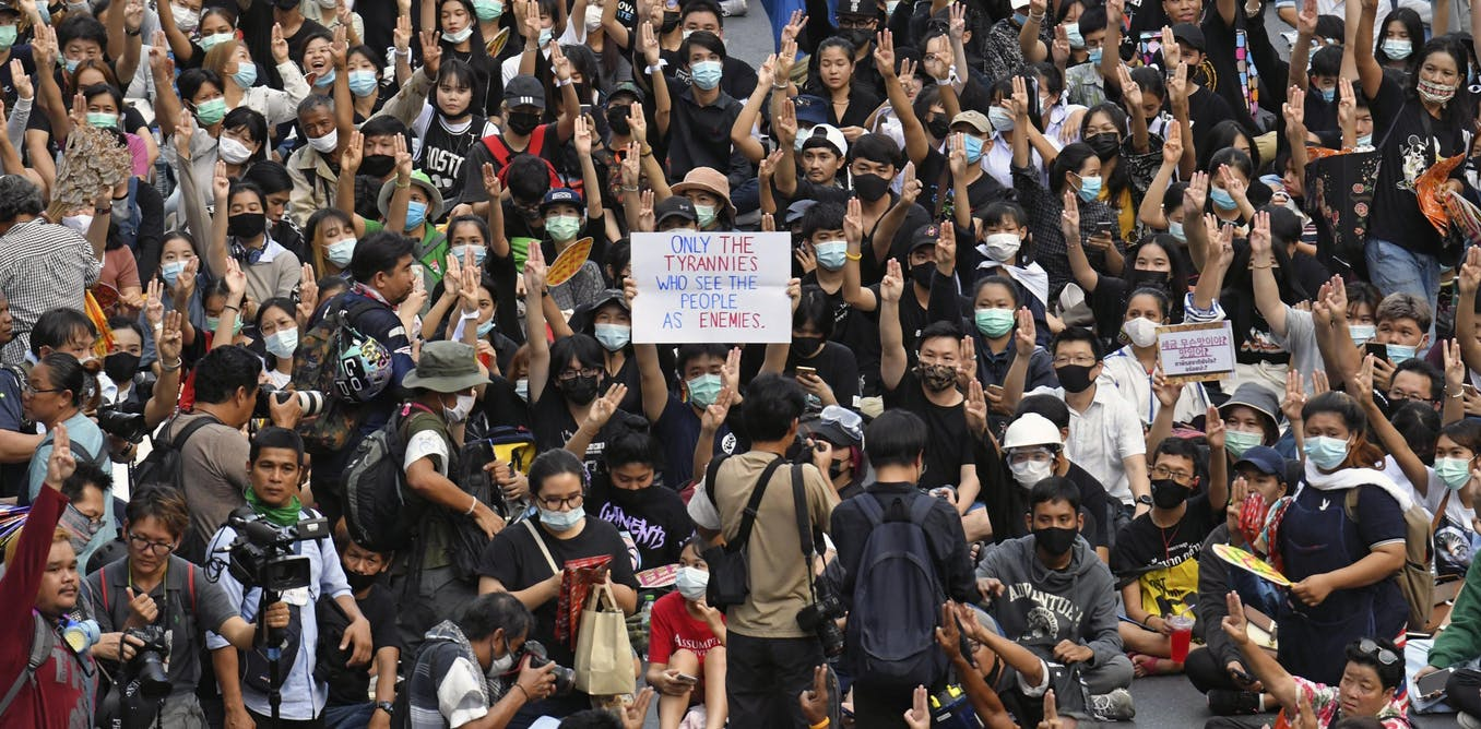Thailand at a critical juncture with pro-democracy protesters again set to clash with police