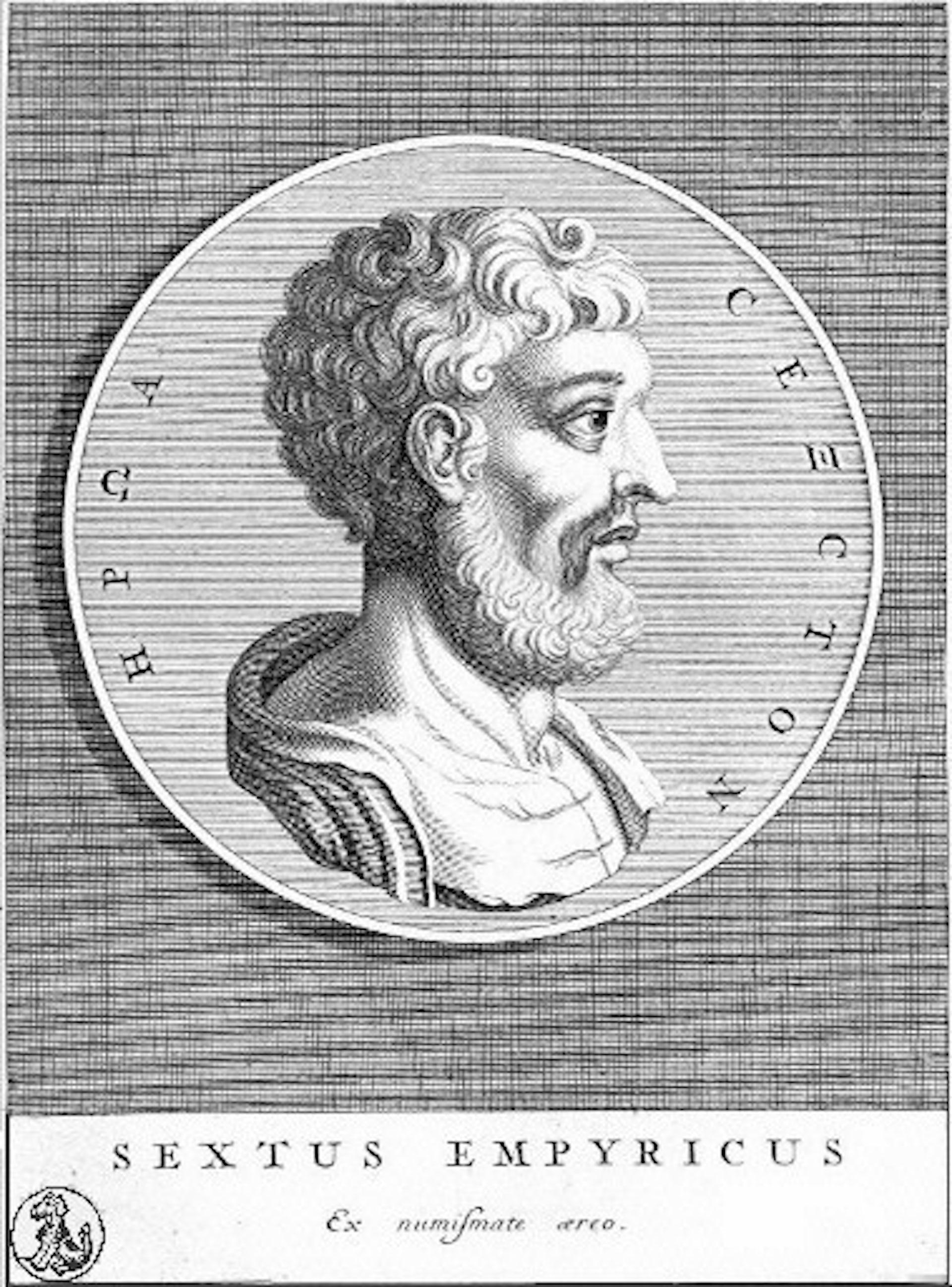 Sextus Empiricus, philosophe sceptique. Wikimedia