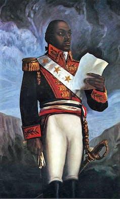 Toussaint Louverture -- chef de la révolution haïtienne