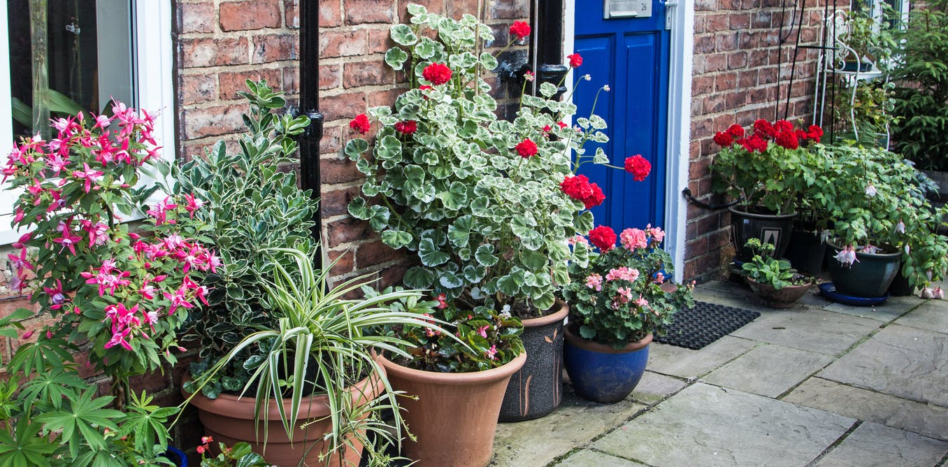 Green front gardens reduce physiological and psychological stress