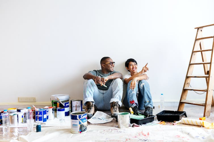 Keeping busy during the pandemic by taking on a new hobby or tackling a home renovation project can help us get through challenging times. (Shutterstock)
