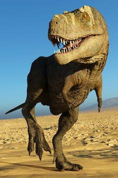 _3D T. rex rendering_