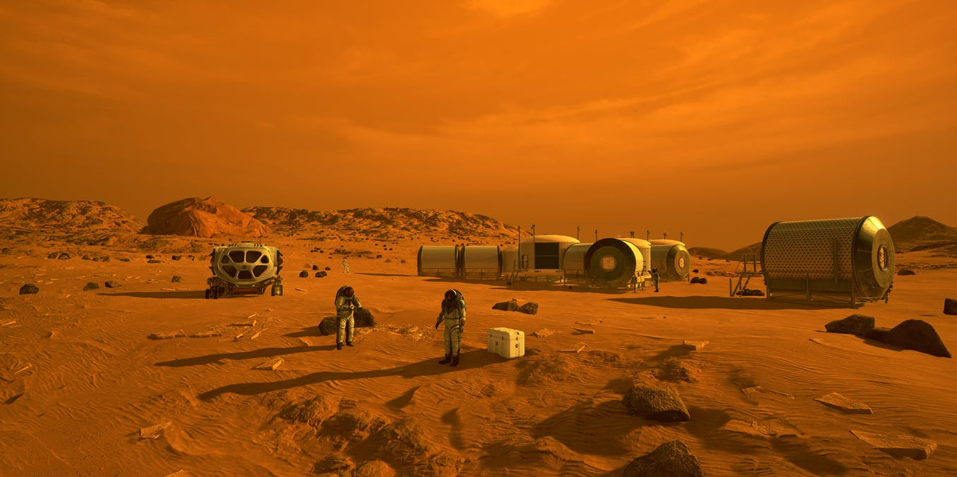 Mars colony: how to make breathable air and fuel from brine – new research - The Conversation US