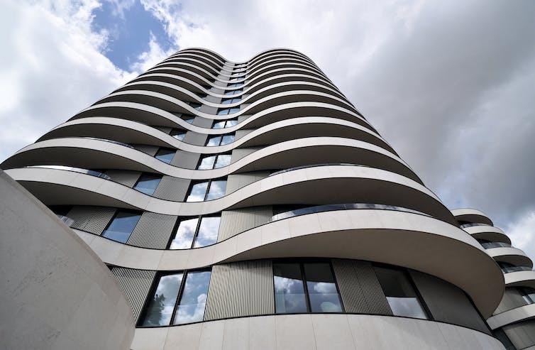 High-rise apartment block