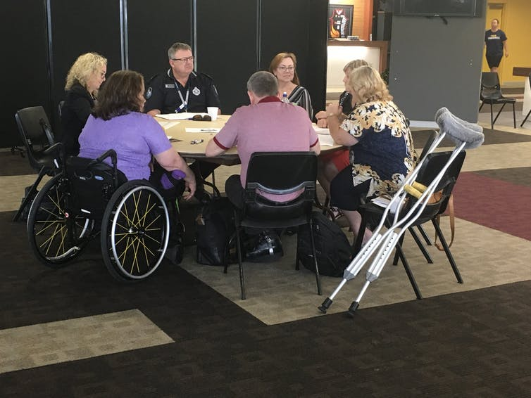Researchers talk with Queensland community members to understand the experience of people with disability in emergencies.