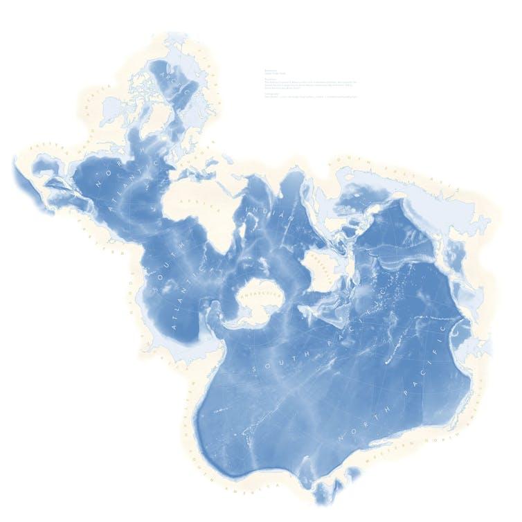 Peta lautan di dunia