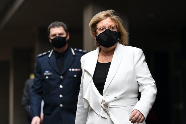 Victoria Police Minister Lisa Neville