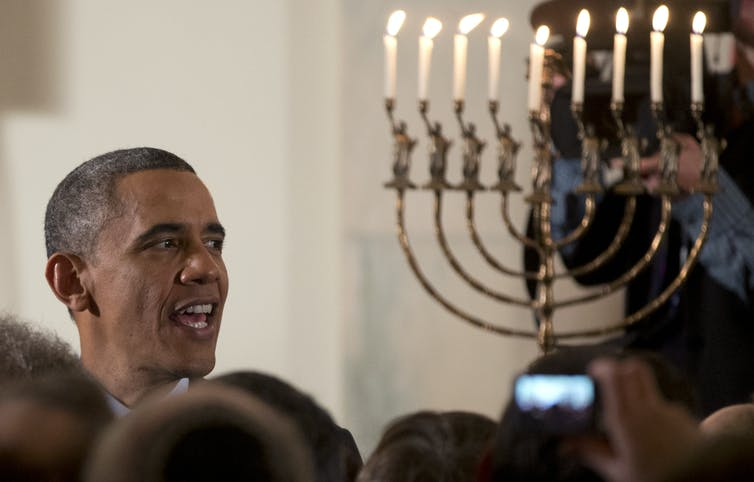 How Hanukkah came to be an annual White House celebration
