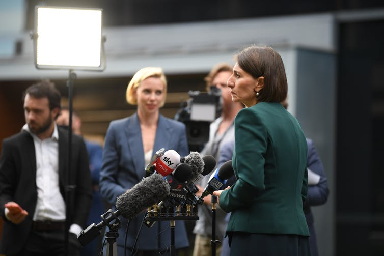 Berejiklian has been under intense media scrutiny.
