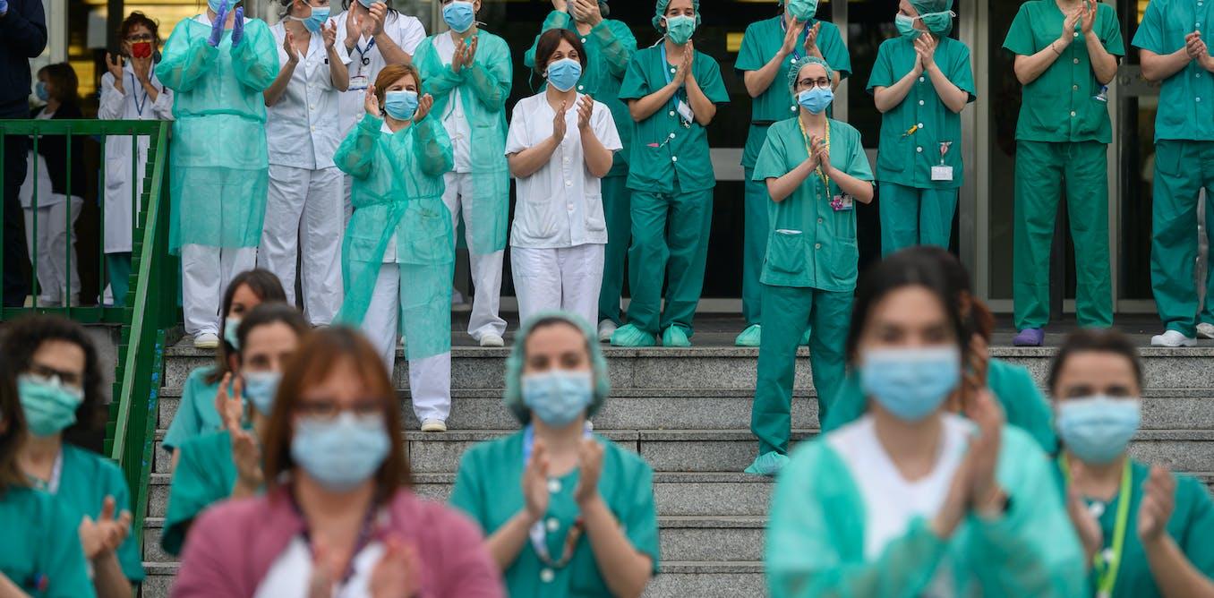 Los cuidados invisibles: las enfermeras detrás de la covid-19