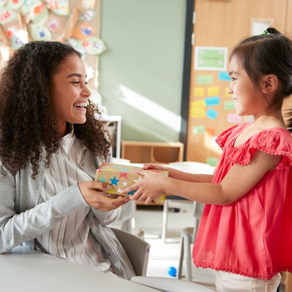 Looking to buy a gift for your child's teacher? Here's how to be ethical about it