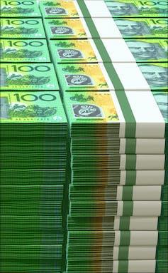 Australia's credit rating is irrelevant. Ignore it