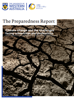 Cover of The Preparedness Report