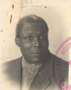 A photograph of Nigerian jazz musician August Agbola O Brown.