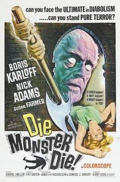 El cartel de Die, Monster, Die!