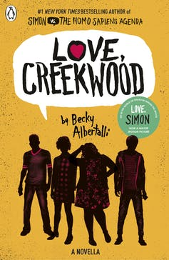 The cover of Becky Albertalli's, Love, Creekwood