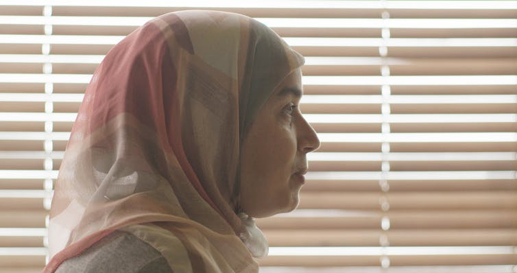 L'actrice Soria Zeroual incarne Fatima, dans le film Fatima 2015