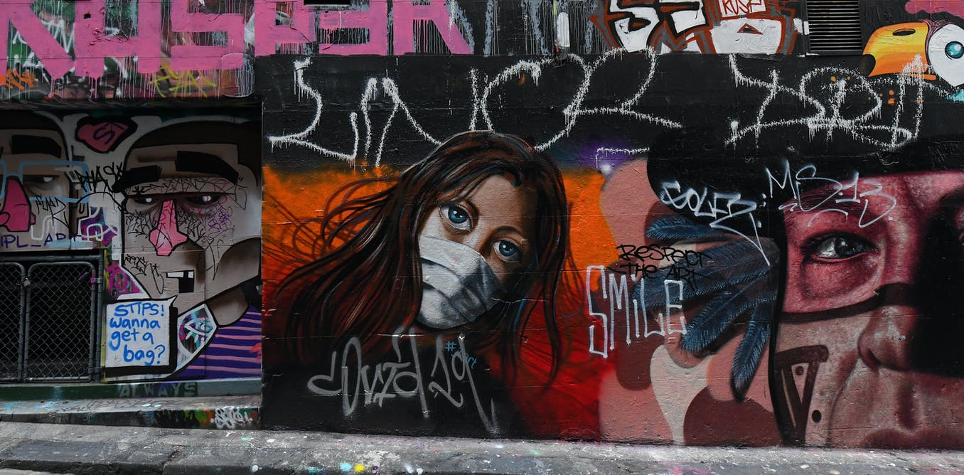 Getting to the (street) art of a year like no other