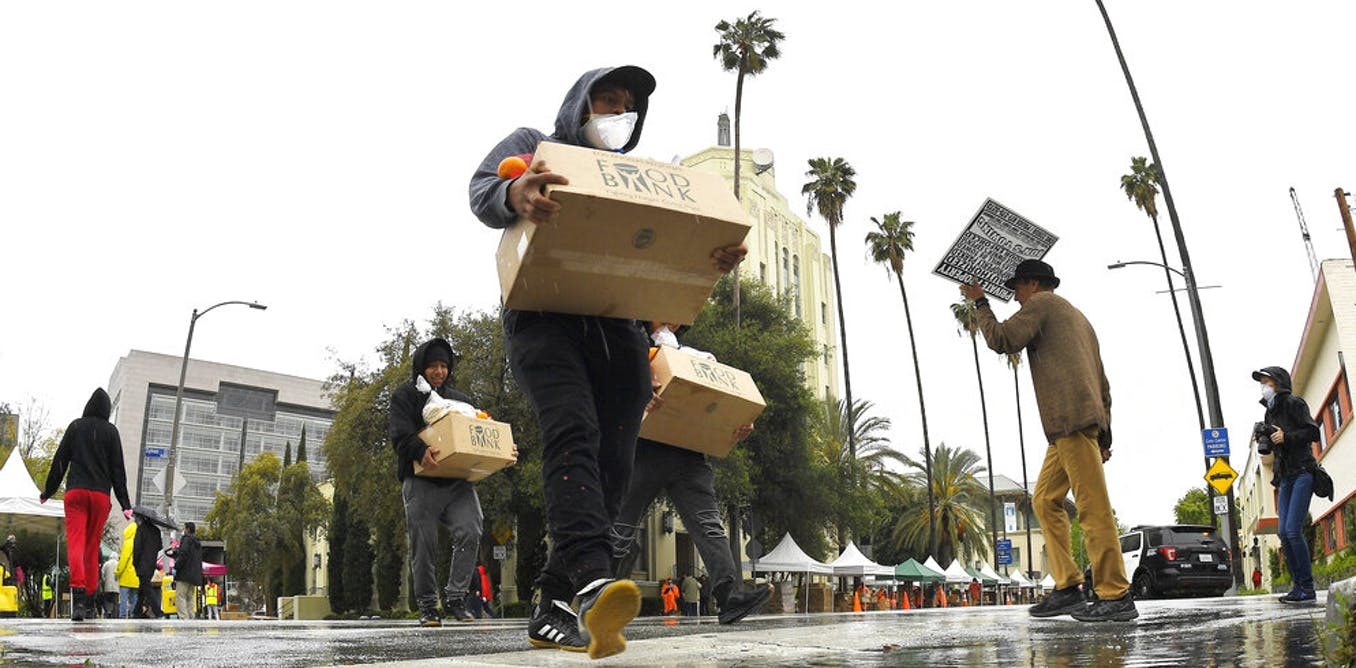 Americans aren't getting enough to eat during the coronavirus pandemic – here's what's happening in Los Angeles County