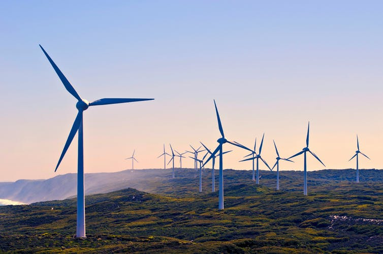 Wind farm in Western Australia