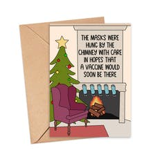 Holiday Cards Help Us Cope Not So Merry Year