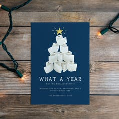 Holiday Cards Help Us Cope Not So Merry Year 1