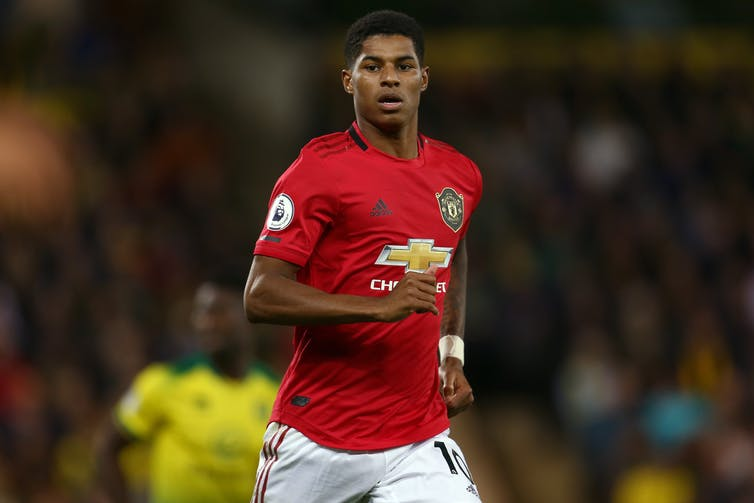 Marcus Rashford of Manchester United - Norwich City v Manchester United, Premier League, Carrow Road, Norwich, UK - 27th October 2019