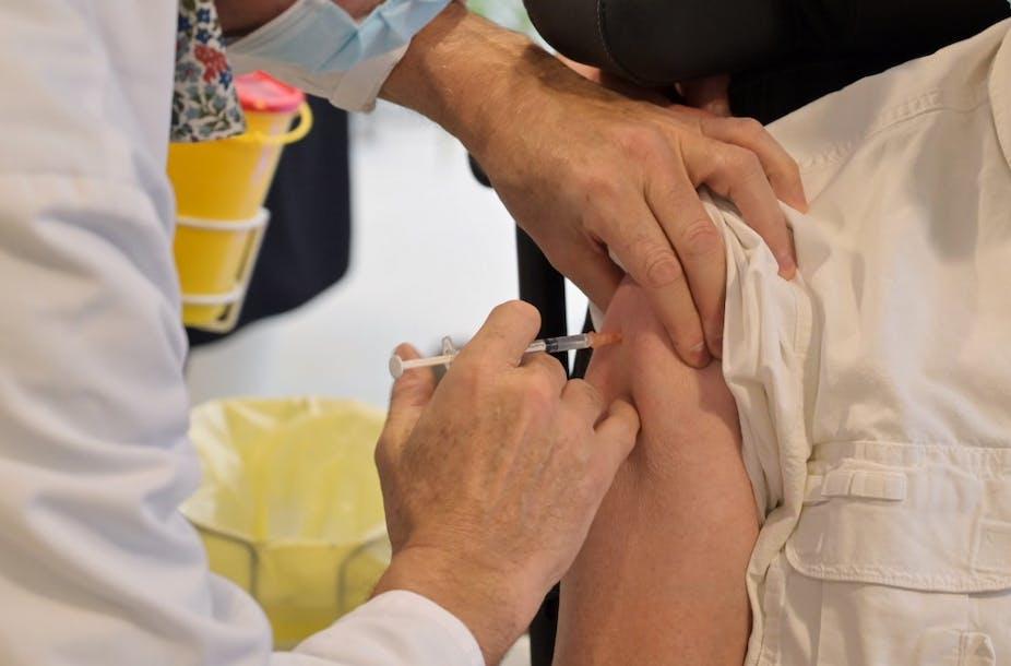 une dose du vaccin Pfizer-BioNTech