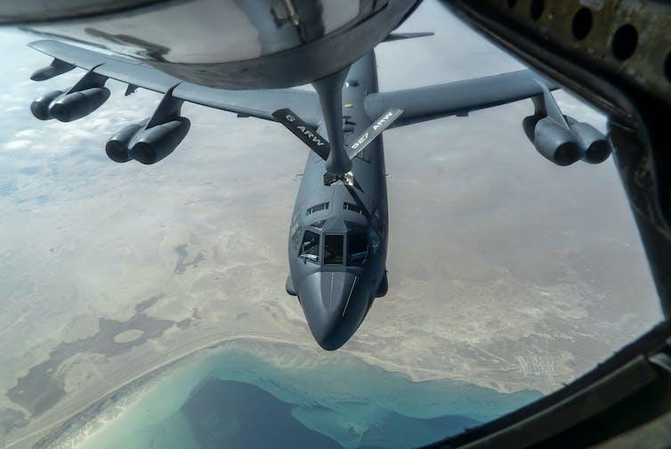 US strategic bombers