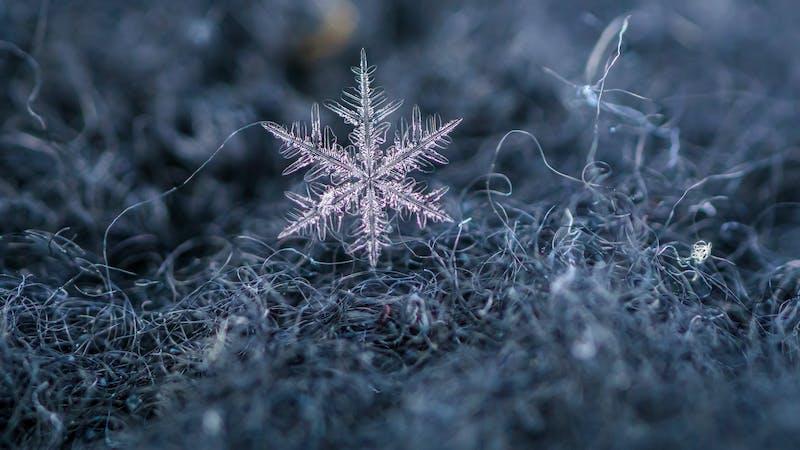 Por qué los copos de nieve son hexagonales y simétricos