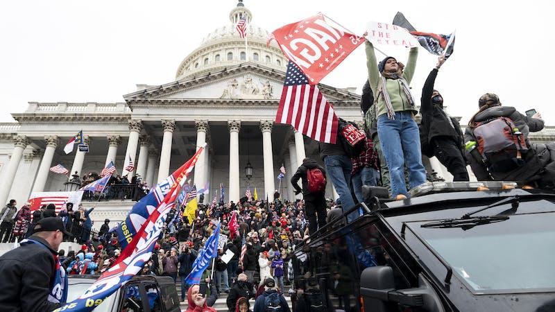 ¿Es el asalto al Capitolio un golpe de Estado?