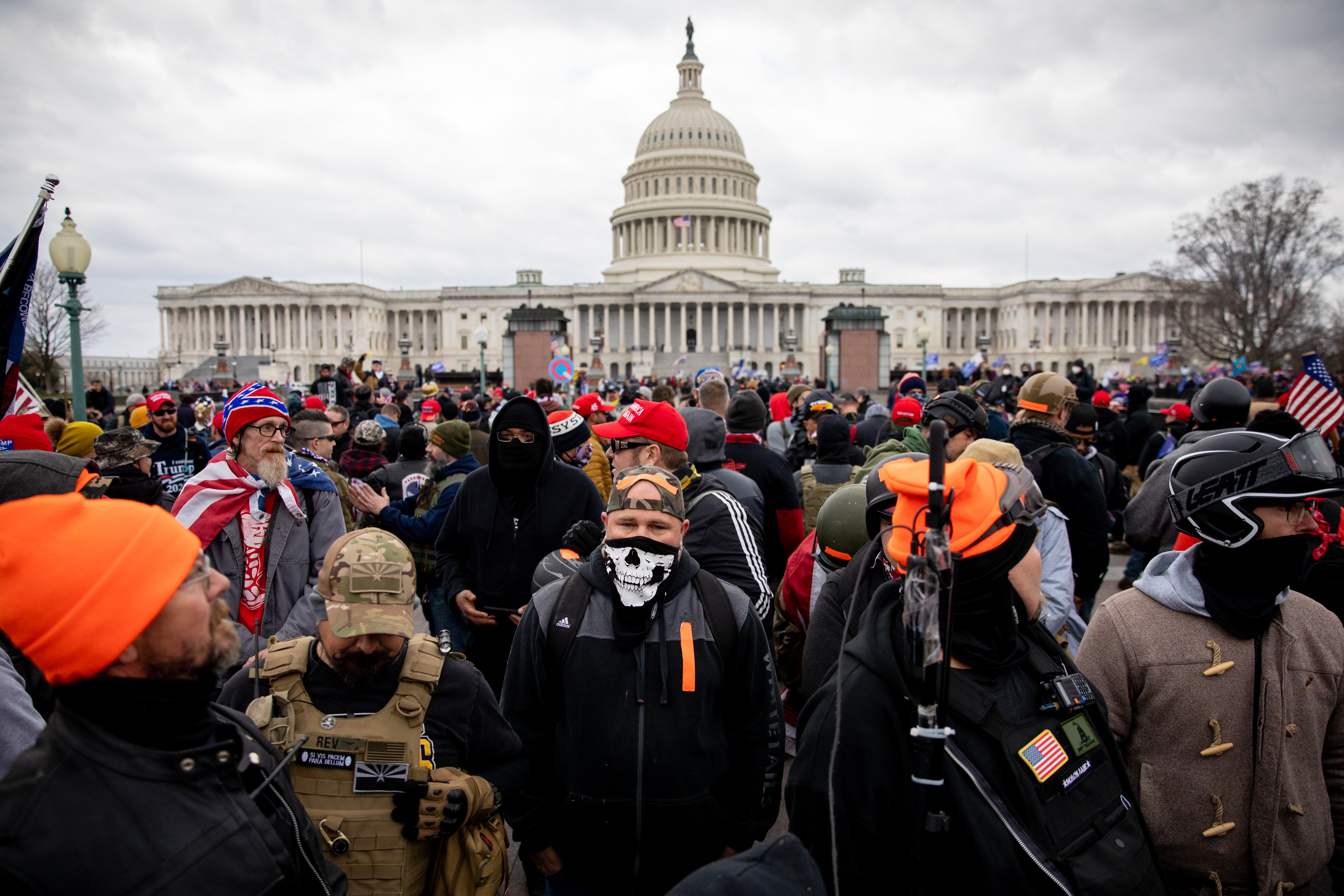 U.S. Capitol Protesters, Egged on by Trump, Are Part of a Long History of White Supremacists Hearing Politicians' Words as Encouragement