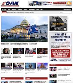 OAN homepage