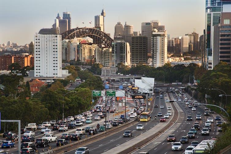 Sydney highway