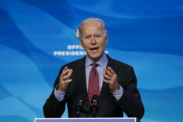 Biden says impeachment is for Congress to decide.