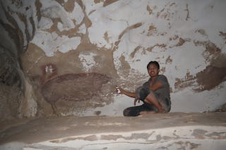 We found the oldest known cave painting of animals in a secret Indonesian  valley
