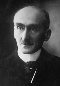 Black and white photograph of Henri Bergson.