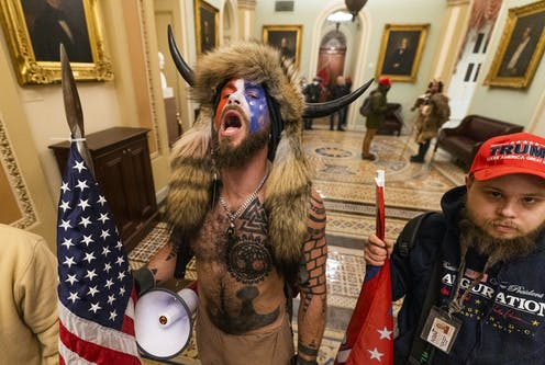 The 'Q Shaman' of the Capitol riots