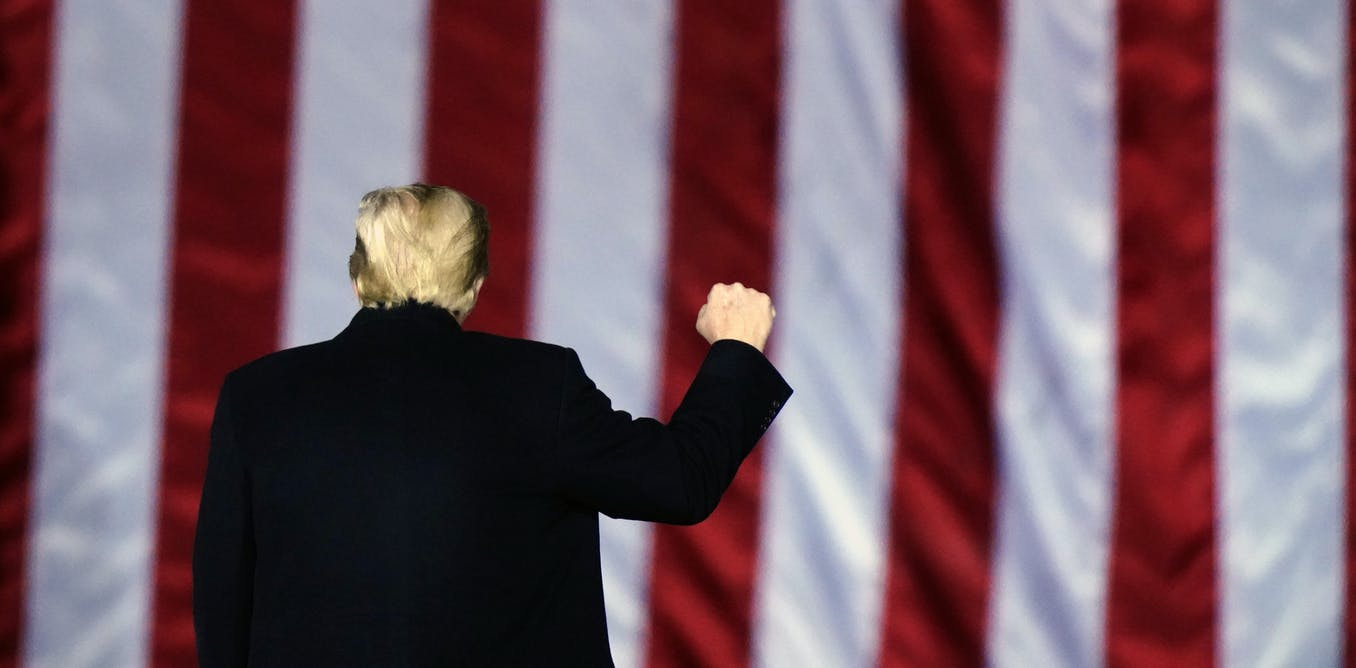 Trump's Twitter feed shows 'arc of the hero,' from savior to showdown