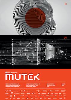 Poster for MUTEK Festival