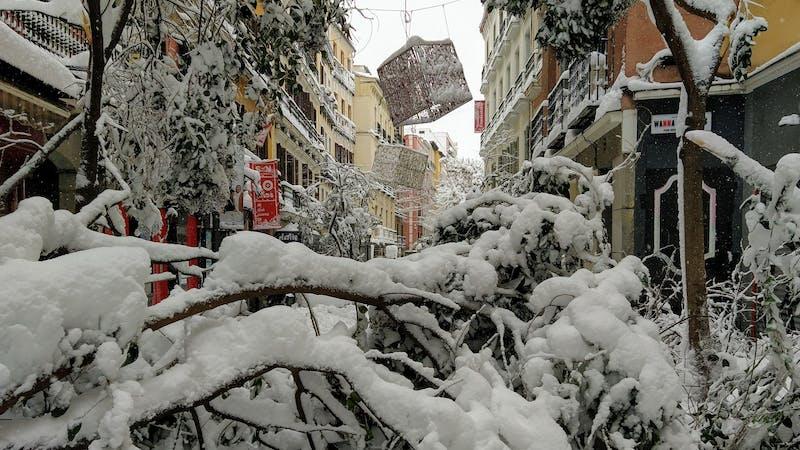 Cambio climático y negacionismo como fronteras del futuro: los desmentidos de Filomena