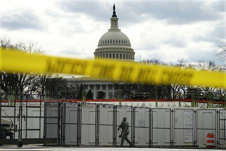 The U.S. Capitol is fortified in advance of Joe Biden's inauguration