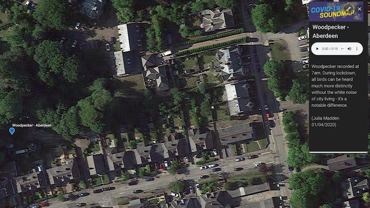 Aerial photograph of Aberdeen.