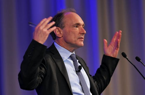 Tim Berners-Lee, the founder of the World Wide Web